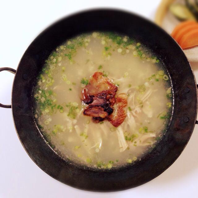 會津人蔘と大根の炊き込みご飯