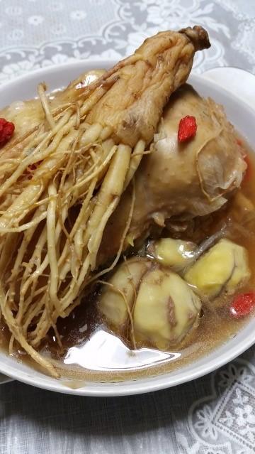 會津人蔘とスペアリブのごちそうスープ煮